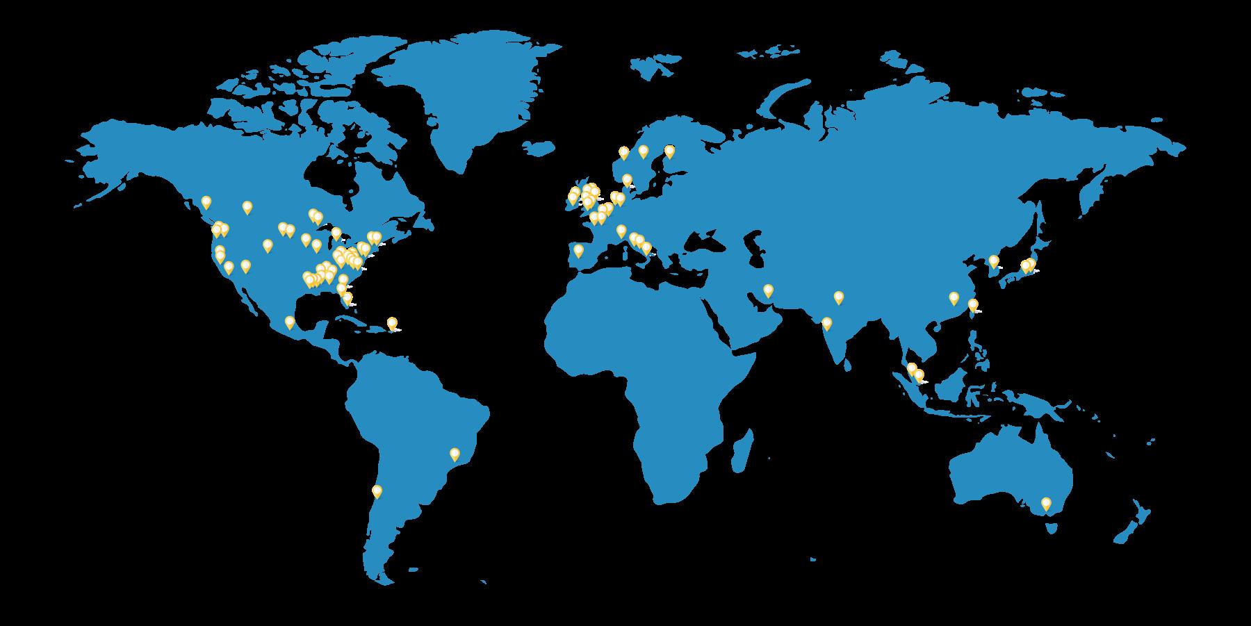 Black Box - Worldwide Locations